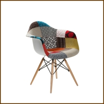 Eames DAW Arm Chair Patterned Fabri HK$1,380