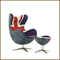 Egg Chair UK Flag HK$3,880