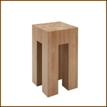Idao Solid Wood Side Table (Tall) HK$2,380