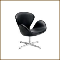 Swan Chair PU $2,320