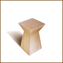 Idao Solid Wood Side Table (Square) HK$2,200